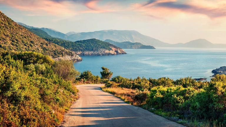 The most amazing bike tours of the Ionian islands