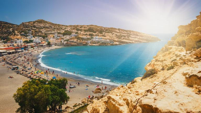 Best beaches in Heraklion!