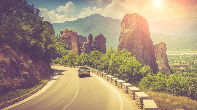 An amazing road trip in Greece: Meteora - Halkidiki