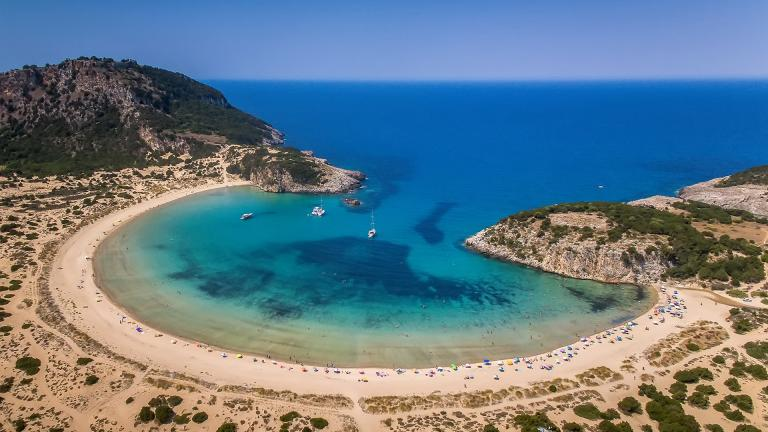 Top 5 beaches to visit in the Peloponnese